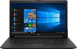 HP 17-BY2334NG, Notebook mit 17.3 Zoll Display, Core™ i7 Prozessor, 8 GB RAM, 512 GB SSD, Radeon Grafik 530, Schwarz