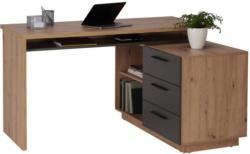 Schreibtisch in Holzwerkstoff 138/75/60 cm