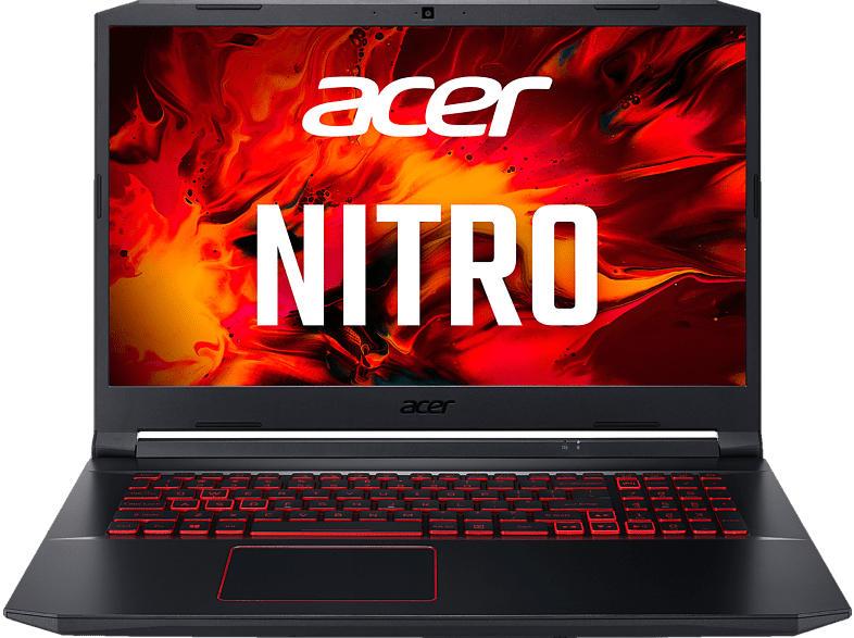 ACER Nitro 5 (AN517-52-75VC), Gaming Notebook mit 17.3 Zoll Display, Core™ i7 Prozessor, 16 GB RAM, 1 TB SSD, GeForce GTX 1650Ti, Schwarz