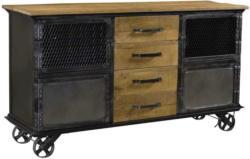 Sideboard Bolzan B: 153 cm Mangoholz
