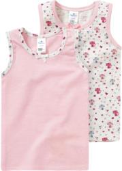 2 Baby Unterhemden mit Katzen-Motiv