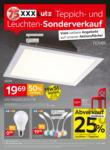 XXXLutz Mann Mobilia - Ihr Möbelhaus in Ludwigsburg XXXLutz Teppich und Leuchten Sonderverkauf - bis 30.08.2020