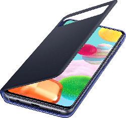 SAMSUNG EF-EA415 S View Wallet , Bookcover, Samsung, Galaxy A41, Polyurethan/ Polycarbonat, Schwarz