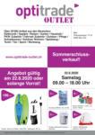 Optitrade & Service Optitrade Sommerschlussverkauf - bis 22.08.2020
