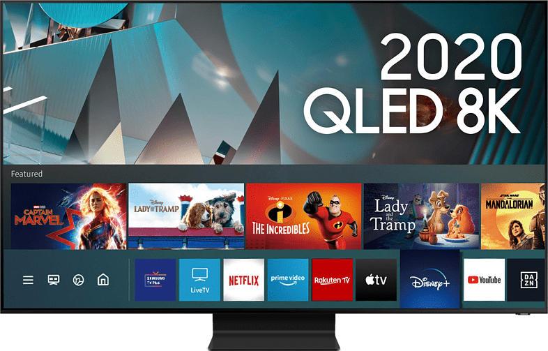 Q800T (2020) 65 Zoll 8K Smart TV QLED Fernseher