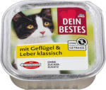dm Dein Bestes Katzenfutter klassisch mit Geflügel & Leber