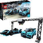 MediaMarkt LEGO 76898 Formula E Panasonic Jaguar Racing GEN2 car & Jaguar I-PACE eTROPHY Bausatz, Mehrfarbig
