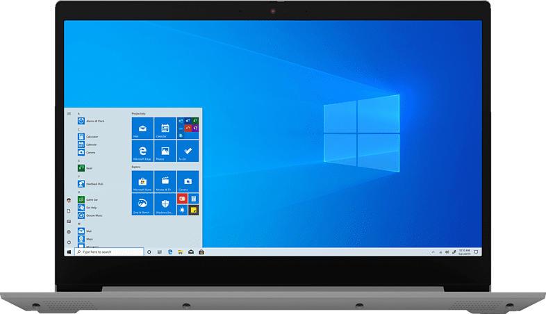 LENOVO IdeaPad 3, Notebook mit 15.6 Zoll Display, Core™ i7 Prozessor, 8 GB RAM, 512 GB SSD, Intel Iris Plus Grafik, Platinsilber