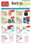 Office World Back to School - bis 23.09.2020