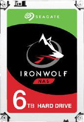 6TB Festplatte IronWolf NAS HDD, SATA 6Gb/s, 3.5 Zoll