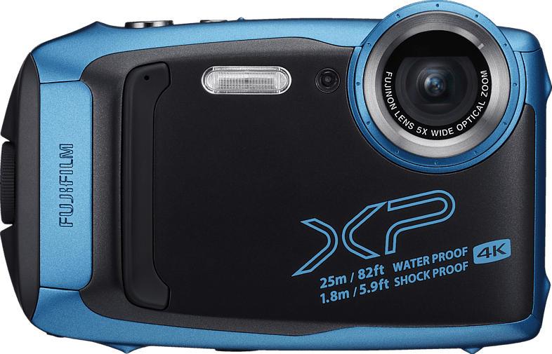 FUJIFILM FinePix XP140 Digitalkamera Eisblau, 16.4 Megapixel, 5x opt. Zoom, Farb-LCD, WLAN