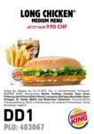 Burger King Burger King Gutscheine - bis 04.10.2020
