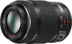 PANASONIC HS-PS 45175 Lumix G 45 mm-175 mm f/4-5.6 ASPH (Objektiv für Micro-Four-Thirds, Schwarz)