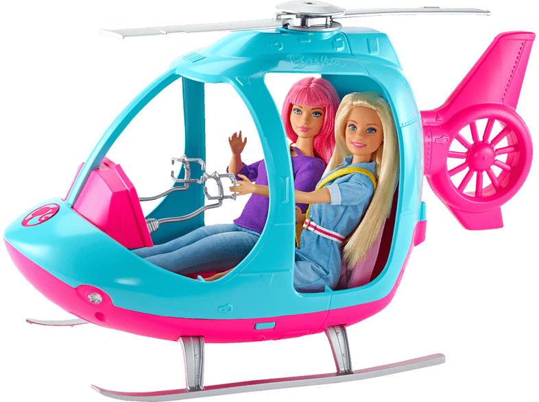 BARBIE Reise Spielzeughubschrauber, Mehrfarbig