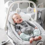 BabyOne Babyschaukel Serina™ 2in1 Grey Flower - bis 06.12.2020