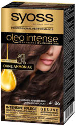 Syoss Oleo Intense Colorations pour cheveux brun chocolat 4-86 -