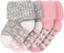 2 Paar Newborn Socken mit Umschlagbund (Nur online)