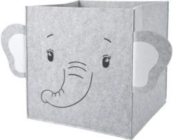 Aufbewahrungsbox mit Elefanten-Motiv