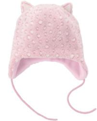 Baby Mütze aus Teddyplüsch