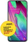 LIBRO Samsung Galaxy A40 LTE, 64GB, schwarz inkl. yesss! Wertkarte