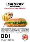 Burger King Burger King Bons - au 04.10.2020