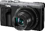 MediaMarkt PANASONIC Lumix DMC-TZ81 LEICA Digitalkamera Schwarz/Silber, 18.1 Megapixel, 30x opt. Zoom, LCD-Display, WLAN