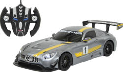 JAMARA Mercedes AMG GT3 1:14 transformable 2,4GHz Ferngesteuertes Fahrzeug, Grau
