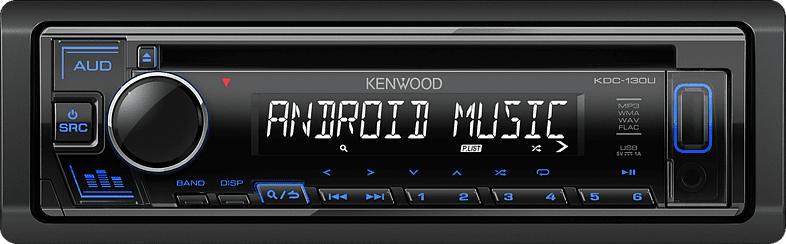 KENWOOD KDC-130UB Autoradio 1 DIN, 50 Watt