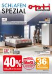 Opti Wohnwelt Schlafenspezial - bis 13.09.2020