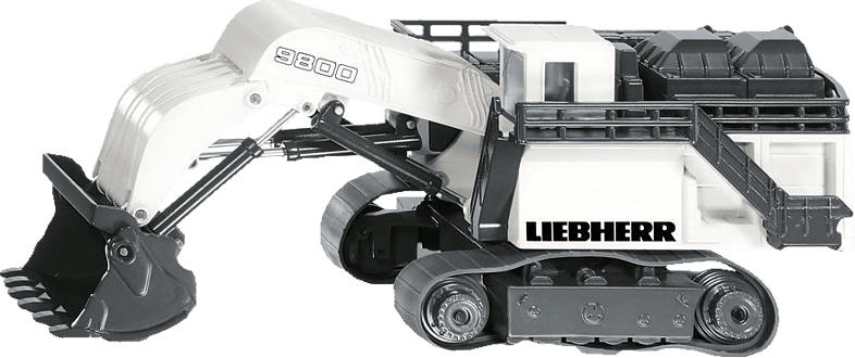 SIKU Liebherr R9800 Mining Bagger Modellfahrzeug, Mehrfarbig