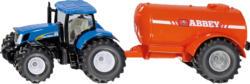 SIKU Traktor mit Ein-Achs-Güllefass Modellfahrzeug, Mehrfarbig