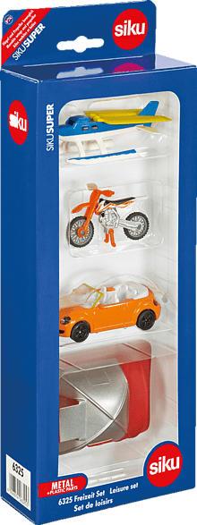 SIKU Freizeit Set Modellfahrzeug, Mehrfarbig