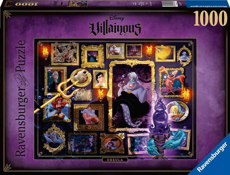 RAVENSBURGER Villainous: Ursula Puzzle, Mehrfarbig