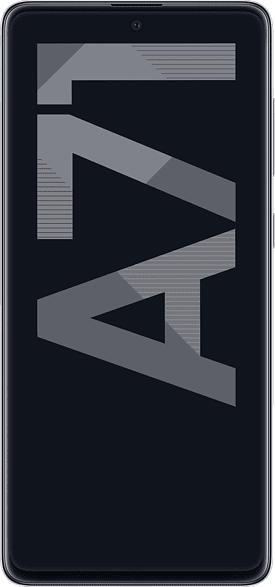 SAMSUNG Galaxy A71 128 GB Metallic Silver Dual SIM