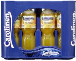 Carolinen Orangen oder Zitronenlimonade 12 x 1 Liter, jeder Kasten