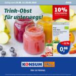 Konsum Dresden Wöchentliche Angebote - bis 29.08.2020
