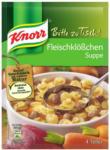BILLA Knorr Bitte zu Tisch Fleischklößchensuppe