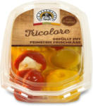 BILLA Käse-Gemüse-Tricolore Kirschpaprika Oliven Patisson-Kürbis