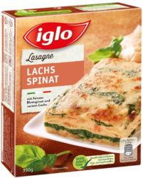 Iglo Lachs-Spinat-Lasagne