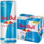 BILLA Red Bull Energy Drink, Sugarfree 6-Pack