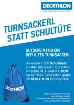 DECATHLON Prospekt - Turnsackerl statt Schultüte