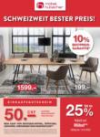 Möbel Hubacher Schweizweit bester Preis - au 13.09.2020