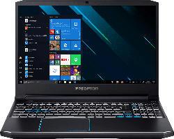 ACER Predator Triton 300 (PT315-52-79LP), Gaming Notebook mit 15.6 Zoll Display, Core™ i7 Prozessor, 16 GB RAM, 1 TB SSD, GeForce RTX 2060, Schwarz/Blau