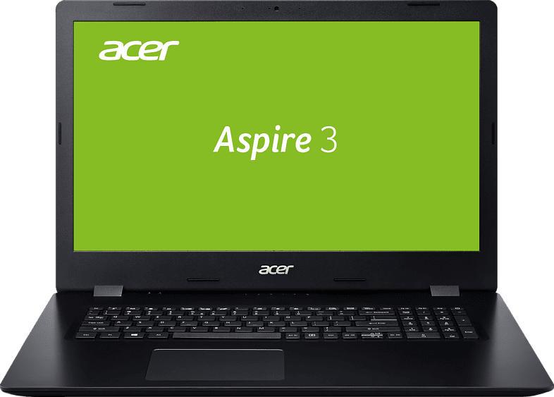 ACER Aspire 3 (A317-32-P7UD), Notebook mit 17.3 Zoll Display, Pentium® Prozessor, 8 GB RAM, 512 GB SSD, Intel UHD Graphics 605, Schwarz