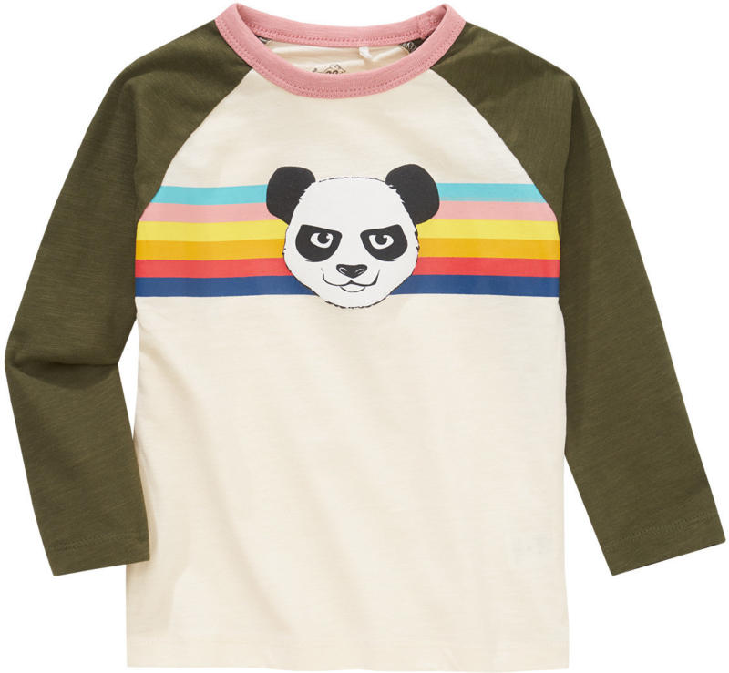 Mädchen Langarmshirt mit Retro-Print (Nur online)
