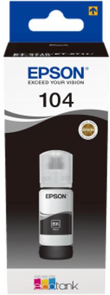 Tinte 104, 65ml, schwarz (C13T00P140)