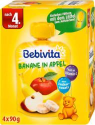 Bebivita Fruchtbrei Banane in Apfel