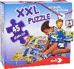 MediaMarkt NORIS XXL Puzzle Auf Streife mit der Polizei Puzzle, Mehrfarbig