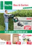 BayWa Bau- & Gartenmärkte Wochenangebote - bis 05.09.2020