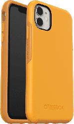OTTERBOX Symmetry , Backcover, Apple, iPhone 11, Polycarbonat, Kautschuk, Gelb
